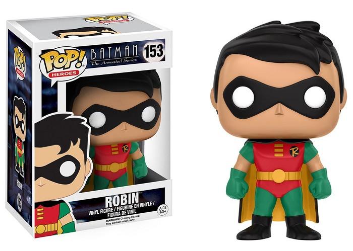 Купить Фигурка Funko POP! Vinyl: DC: Batman Animated: BTAS Robin (11571)