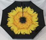 Зонт обратного сложения Feeling Rain 105 см Желтый цветок (77012/3)