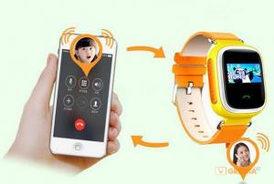 фото Детские умные часы с GPS трекером GW900 (Q60) Yellow #3