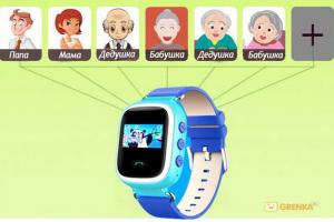 фото Детские умные часы с GPS трекером GW900 (Q60) Yellow #5