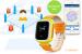 фото Детские умные часы с GPS трекером GW900 (Q60) Yellow #4
