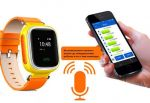 фото Детские умные часы с GPS трекером GW900 (Q60) Yellow #2