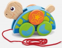 Игрушка-каталка Viga Toys 'Черепаха' (50080)