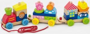 Игрушка-каталка Viga Toys 'Паровозик' (50089)