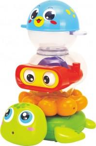 Игрушки для купания Huile Toys 'Веселая компания' (3112)
