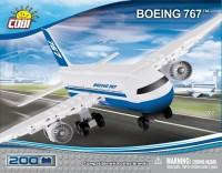 Конструктор COBI 'Самолет Boeing-767, 200 деталей' (COBI-26205)