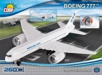 Конструктор COBI 'Самолет Boeing-777, 260 деталей' (COBI-26261)