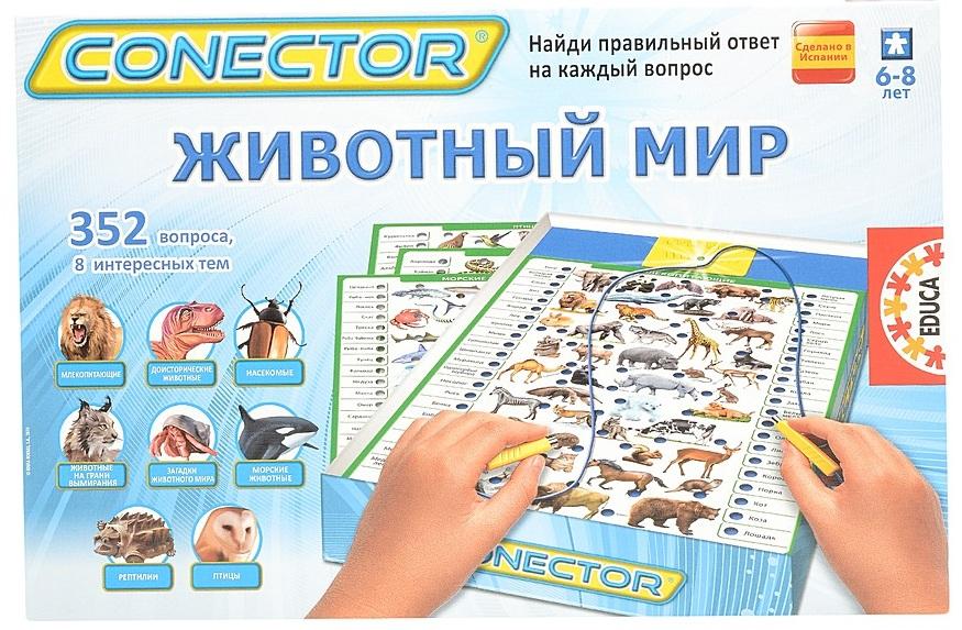 Настольная игра EDUCA 'Викторина Животный мир' (EDU-17484)