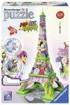 Пазл 3D Ravensburger 'Эйфелевая башня в стиле поп-арт 216 элементов' (RSV-125982)