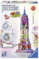 Пазл 3D Ravensburger 'Эмпайр Стейт Билдинг в стиле поп-арт 216 элементов' (RSV-125999)