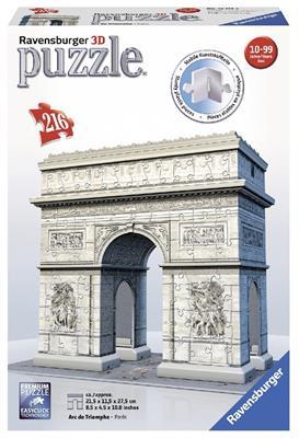 Купить Пазл 3D Ravensburger 'Триумфальная арка 216 элементов' (RSV-125142)