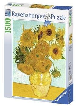 Купить Пазл Ravensburger 'Винсент ван Гог Подсолнухи 1500 элементов' (RSV-162062)