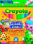 Фломастеры со штампами Crayola 'Shopkins' (58-8152)