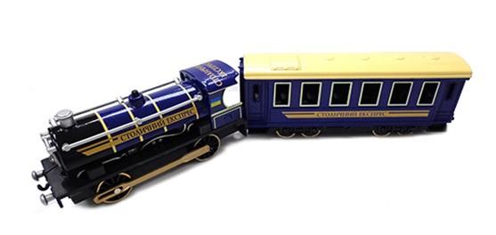 Модель Технопарк 'Паровоз с вагоном' (CT10-038)