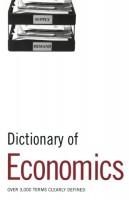 Книга Dictionary of Economics
