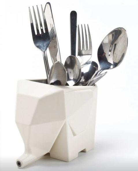 Купить Сушилка для столовых приборов 'Слон' (бежевый)