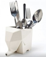 Подарок Сушилка для столовых приборов 'Слон' (бежевый)