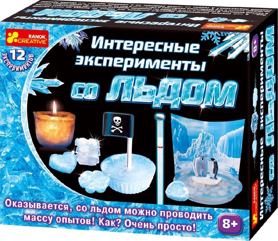 Купить Набор для экспериментов 'Интересные эксперименты со льдом', Ranok