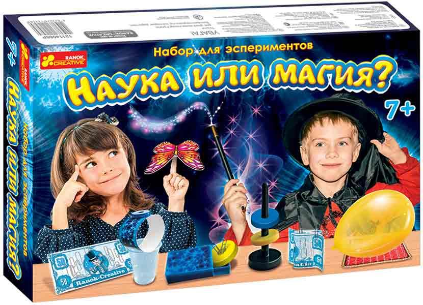 Купить Набор для экспериментов 'Наука или Магия', Ranok