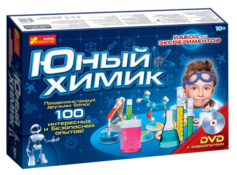 Купить Наборы для опытов, Набор для экспериментов 'Юный химик', Ranok