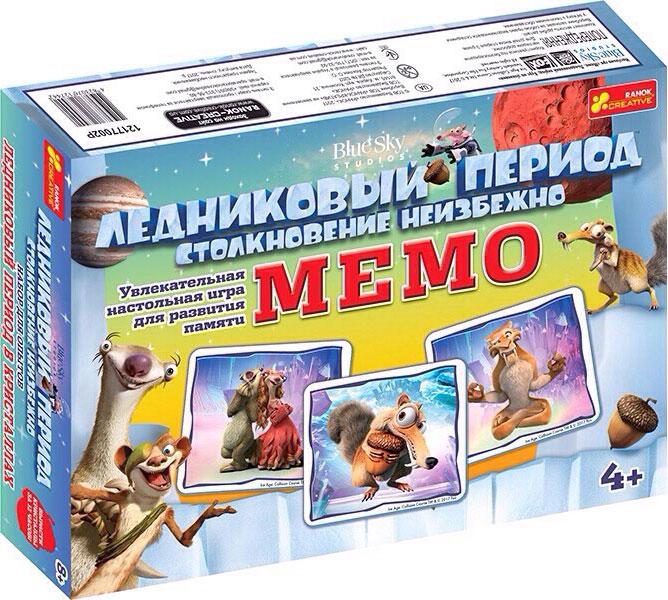 Купить Настольная игра 'Мемо. Ледниковый период', Ranok