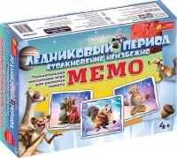 Настольная игра 'Мемо. Ледниковый период'