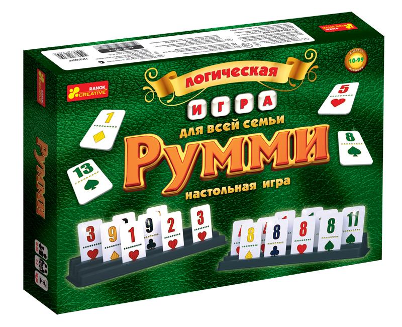 Купить Настольная игра 'Румми', Ranok