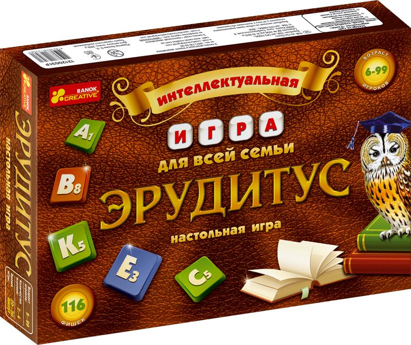 Настольная игра 'Эрудитус', Ranok  - купить со скидкой