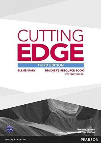 Купить Cutting Edge 3rd Edition Elementary Teacher's Book with Teacher's Resources Disk Pack, Stephen Greene, 9781447936862, 978-1-4479-3686-2