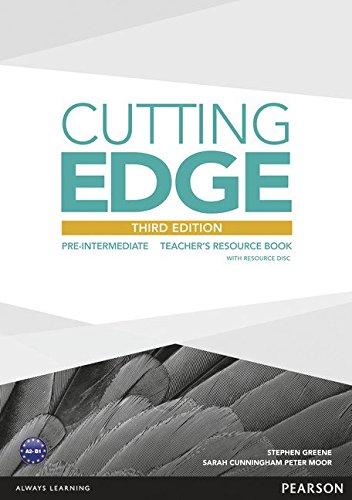 Купить Cutting Edge 3rd Edition Pre-Intermediate Teacher's Book with Teacher's Resources Disk Pack, Stephen Greene, 9781447936930, 978-1-4479-3693-0