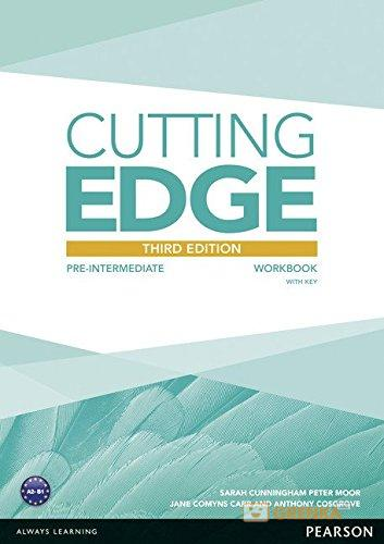 Купить Cutting Edge 3rd Edition Pre-Intermediate Workbook with Key, Anthony Cosgrove, 9781447906636, 978-1-4479-0663-6