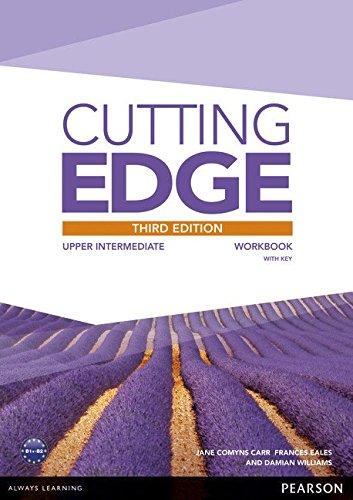 Купить Cutting Edge 3rd Edition Upper Intermediate Workbook with Key, Damian Williams, 9781447906773, 978-1-4479-0677-3
