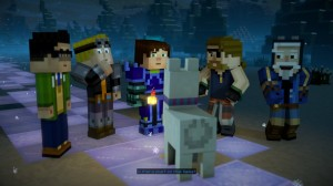 скриншот Minecraft Story Mode Season 2 PS4 #3