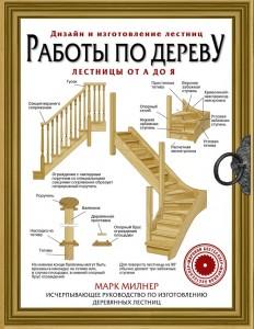 Книга Работы по дереву. Лестницы от А до Я