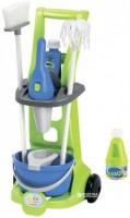 Игровой набор Ecoiffier 'Тележка для уборки с пылесосом' 8 аксессуаров (001769)