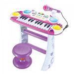 Пианино 'Музыкант' розовое (7235PINK)
