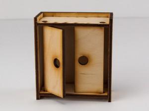 фото Дерев'яний ігровий будиночок-конструктор (90446) #4