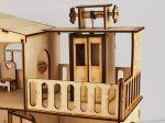 фото Дерев'яний ігровий будиночок-конструктор (90446) #5