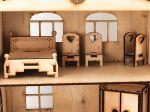 фото Дерев'яний ігровий будиночок-конструктор (90446) #3