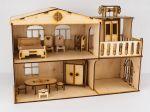 фото Дерев'яний ігровий будиночок-конструктор (90446) #2