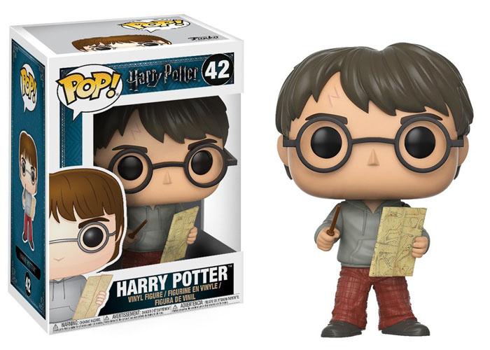 Купить Игровые фигурки, Фигурка Funko POP! Vinyl 'Harry Potter - Harry with Marauders Map' (14936)