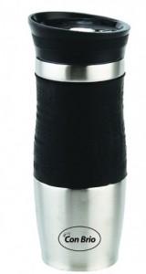 Термокружка Con Brio 380 мл, черная (СВ364черн)