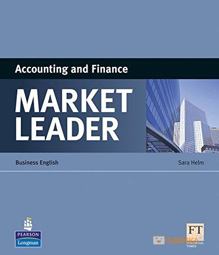 Купить Market Leader ESP Book - Accounting and Finance, Sara Helm, 978-1-4082-2002-3