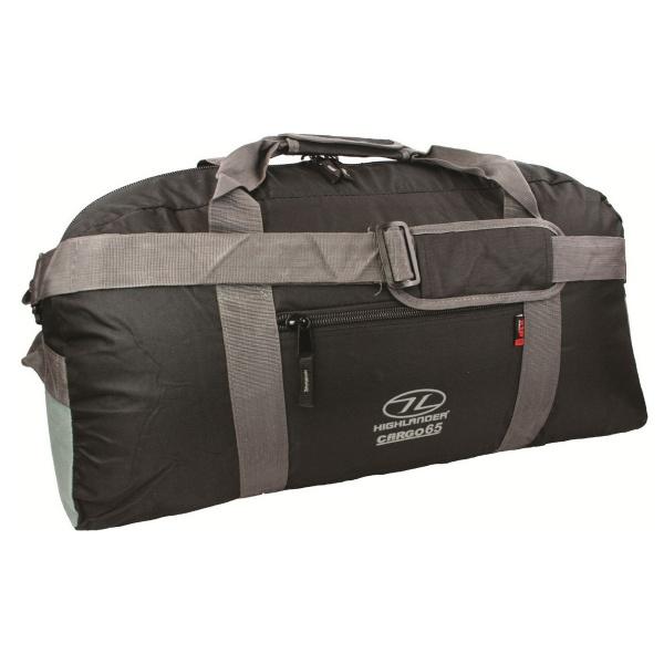 Купить Сумка дорожная Highlander Cargo 65 Black (924220)