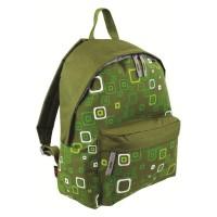 Рюкзак городской Highlander Zing 20 Kaleidos Square Print Green (924242)