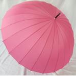 Подарок Зонт-трость 24 спицы (розовый)