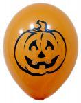 Воздушный шарик Halloween 'Тыква' 12'' (30 см) оранжевый