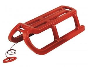 Зимние санки AlpenGaudi 'Alpen Rodel' красный (4020716299600)