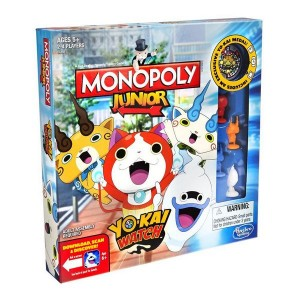 Настольная игра 'Монополия' Hasbro Junior Yo-Kai Watch (B6494)