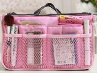 Подарок Большой органайзер для вещей Bag in Bag (розовый)
